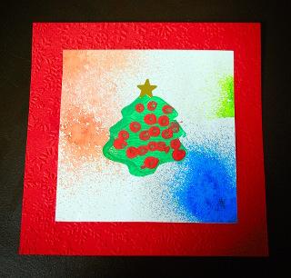Carte de Noël pour les PS | Maternelle de Bambou