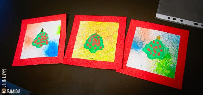 Cartes de Noël - Pour les PS