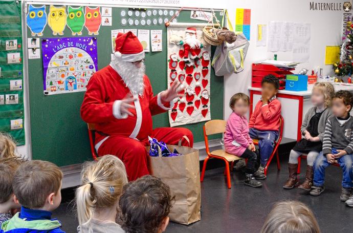Le Père Noël est venu dans la classe de Bambou !