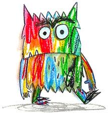 """Résultat de recherche d'images pour """"monstre barbouillé"""""""