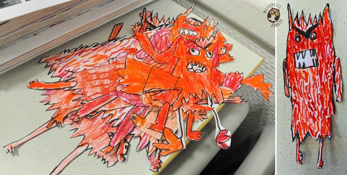 Monstre des couleurs - La colère