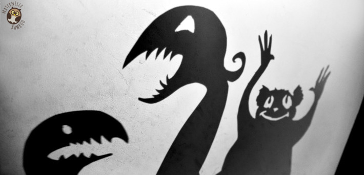 Théâtre d'ombres en GS - Mon père, chasseur de monstres