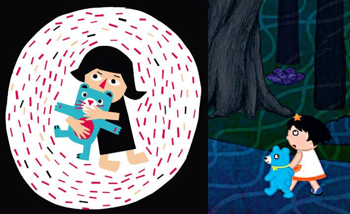 """""""Le doudou qui parle"""" de Elisa Géhin / """"L'arbre à gâteaux"""" de Etsuko Watanabe"""