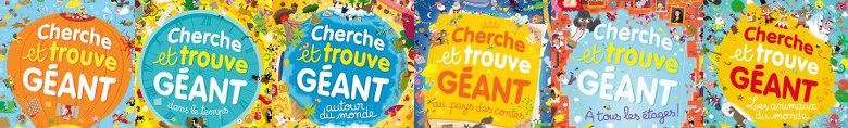 Cherche et Trouve Géant - Auzou
