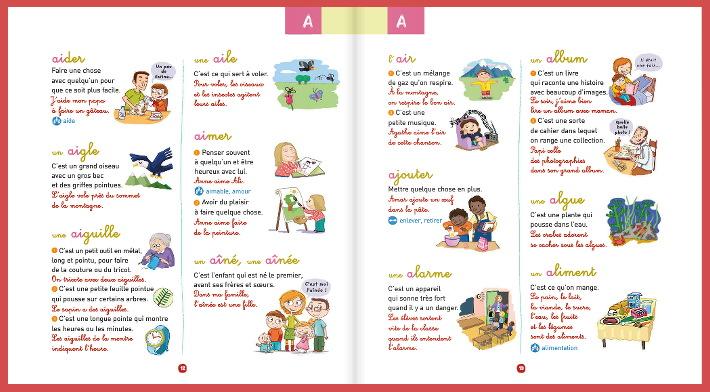 Rituel Mot Du Jour Avec Le Dictionnaire Nathan Maternelle De Bambou