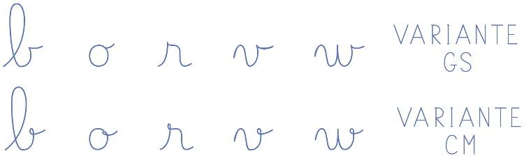 ecriture cursive libreoffice