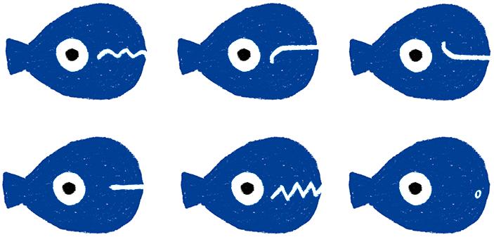 émotions du petit poisson