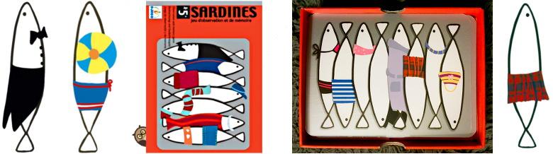 jeu des sardines - djeco