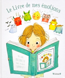"""""""Le Livre de mes émotions"""" de Stéphanie Couturier & Maurèen Poignonec"""