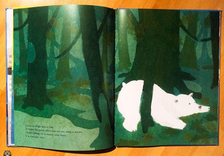 Tibouli se réfugie dans la forêt.