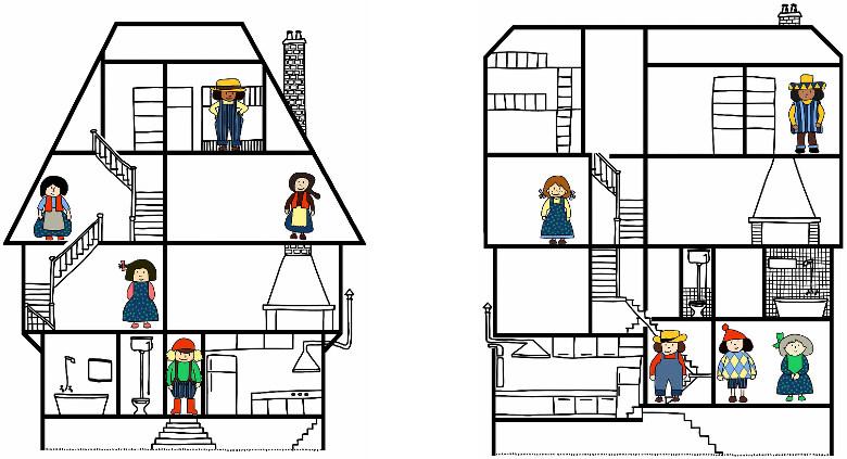 dix petits amis déménagent de maison en maison