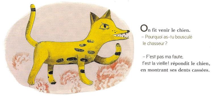 Illustration de Cécile Gambini - Les Deux Cailloux