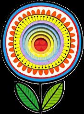 fleur multicolore du grand livre des couleurs - Jane Foster