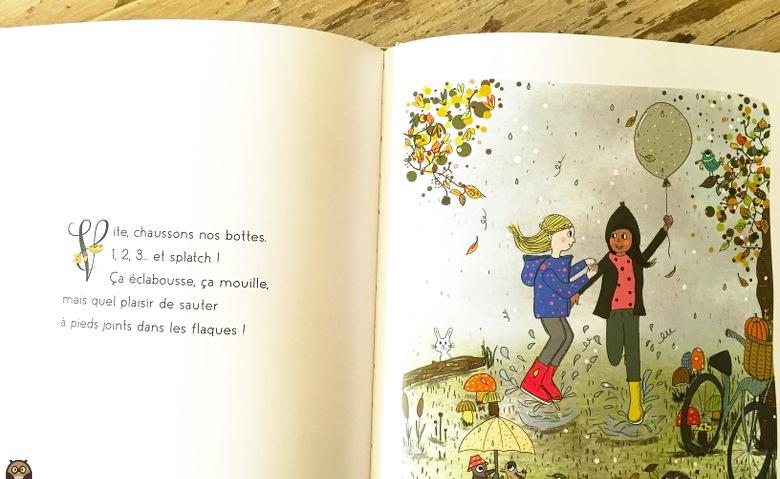 Sauter dans les flaques à pieds joints - Amélie Biggs Laffaiteur