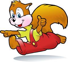 la feuille et l'écureuil - chanson d'Henri Dès