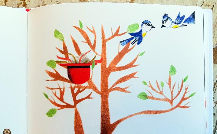 Le nid - La rencontre des mésanges bleues