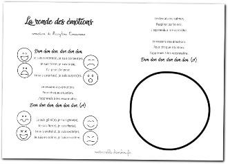 ronde des émotions - pdf avec paroles