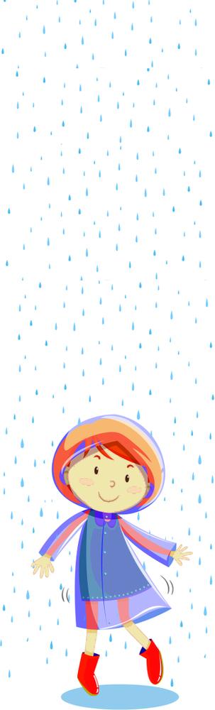 Gouttes gouttelettes de pluie