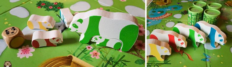 "Matériel de jeu de ""Pandoo Panda"""