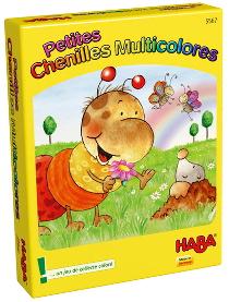 Petites chenilles multicolores - jeu de Haba