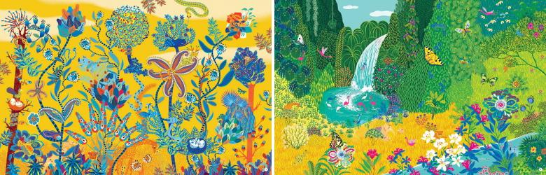 Cachés dans la jungle de Peggy Nille