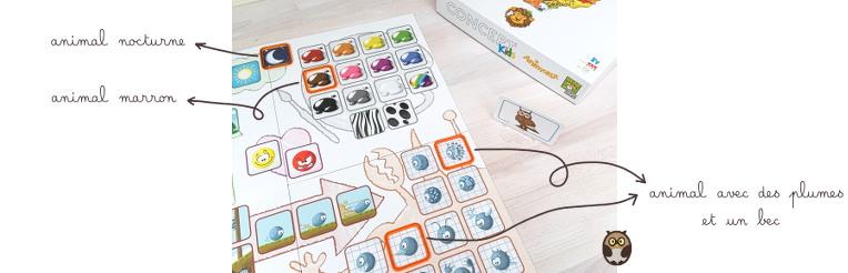 Concept Kids Animaux - le hibou