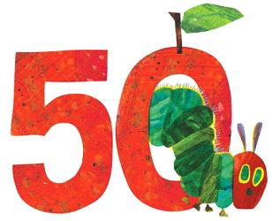 la chenille qui fait des trous fête ses 50 ans !