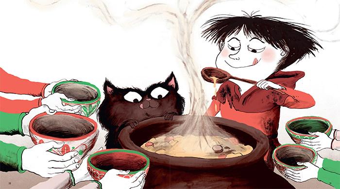 quelle bonne soupe de pierres !
