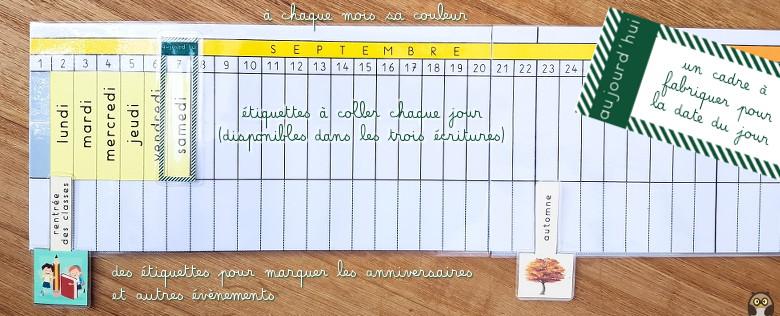 Poutre Du Temps 2019 2020 Maternelle De Bambou