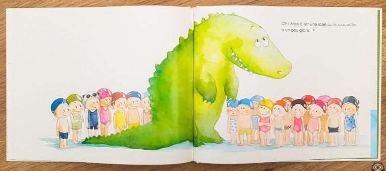 Le crocodile de l'école - C'est une idée ou il a un peu grandi ?
