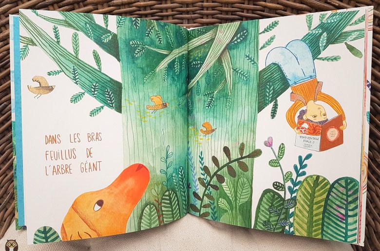 Où tu lis, toi ? Dans les bras feuillus de l'arbre géant.