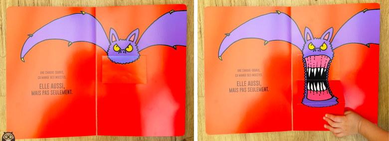 le grand livre de la peur - la chauve-souris