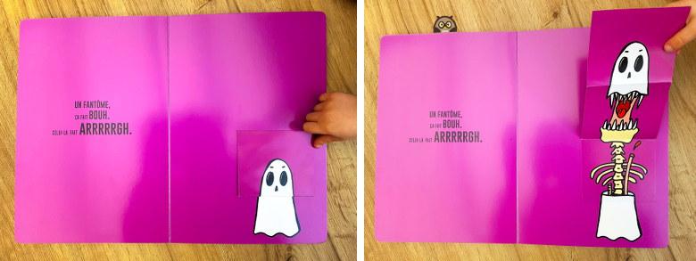 le grand livre de la peur - le fantôme