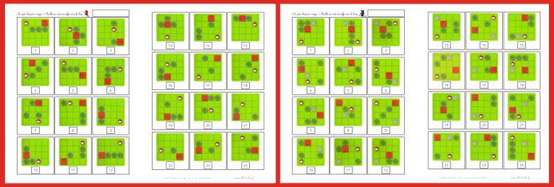 feuille de route - petit chaperon rouge deluxe - smartgames