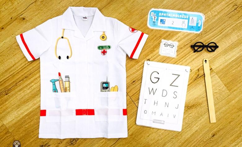 matériel du jeu pour les GS - ophtalmologue