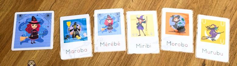 La famille de sorcières : Maraba, Mérébé, Miribi, Morobo et Murubu