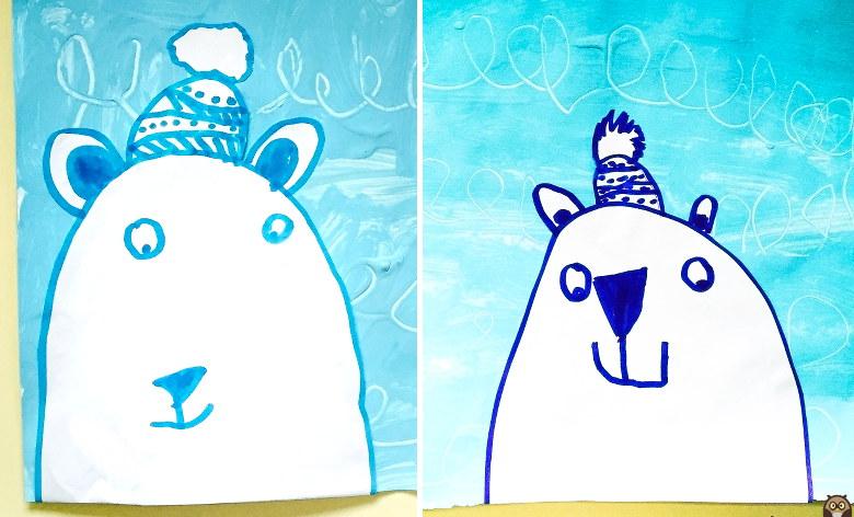 tête d'ours polaire - GS
