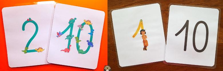 cartes des bis quini