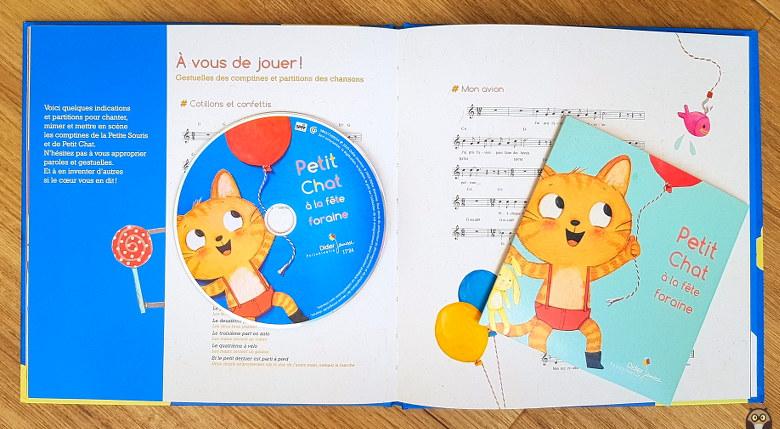 album cd de Petit Chat à la fête foraine