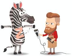 le son [z] - méthode Apili - Le coiffeur rase le ventre du zèbre - Fais vibrer ta main comme le rasoir