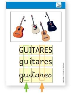 fiche-mot référent : guitares - cléo gs