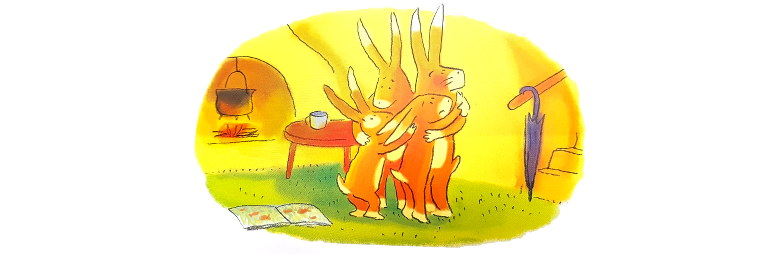 cache cache lapins - didier jeunesse