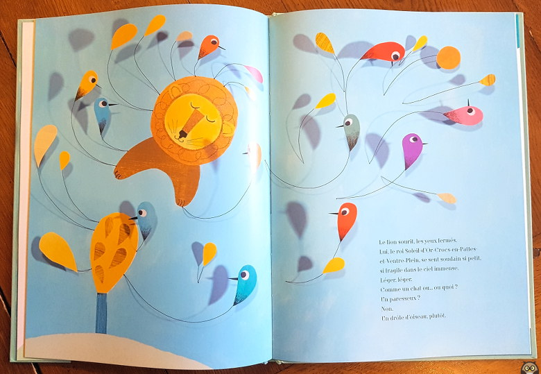 l'oiseau lion - Christine Beigel & Christine Destours