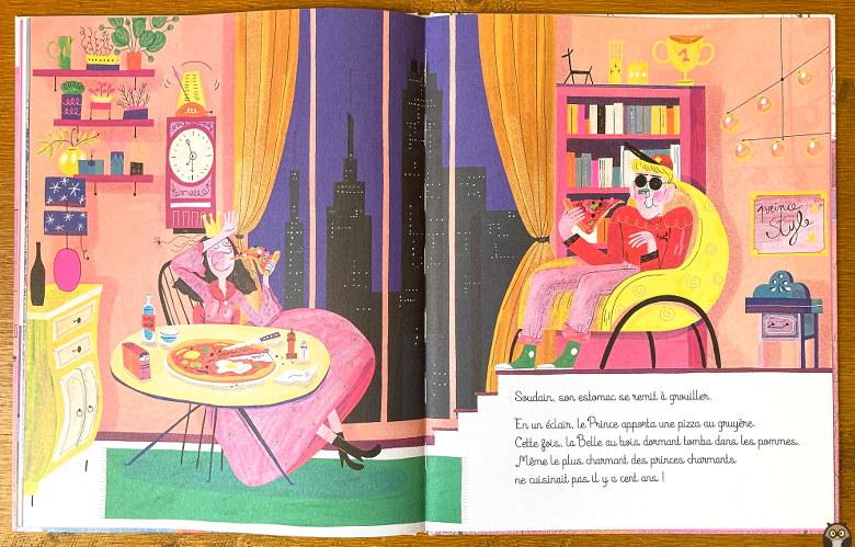 La Belle au bois Ronflant, le Prince et la pizza au gruyère