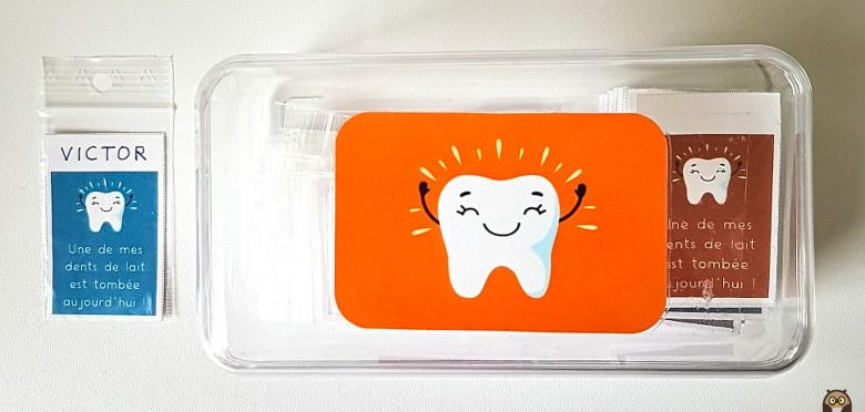 La boîte pour les dents qui tombent