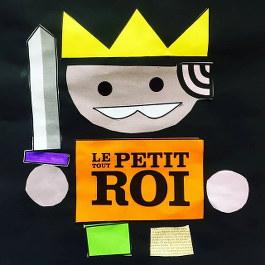 découpage et collage pour reconstituer le Tout Petit Roi