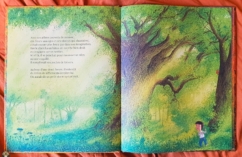 """Basile s'aventure dans la forêt - """"les couleurs de la forêt"""""""