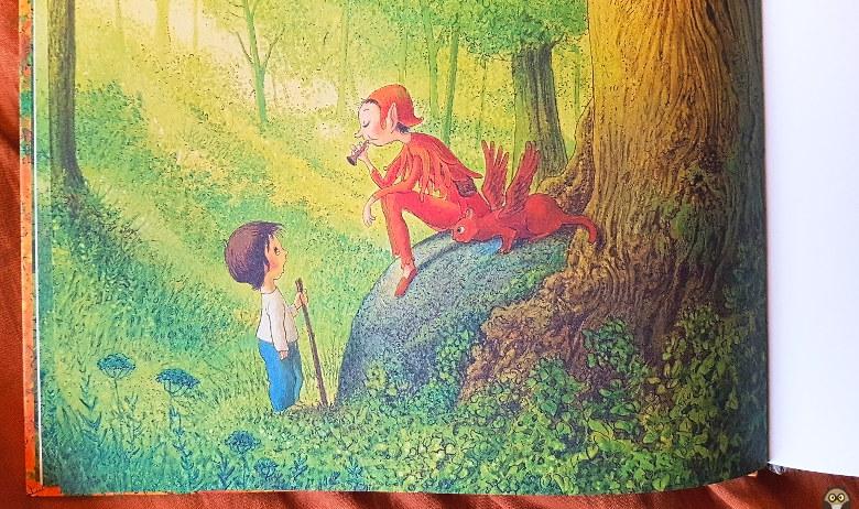 Basile rencontre Lenno - Les couleurs de la forêt